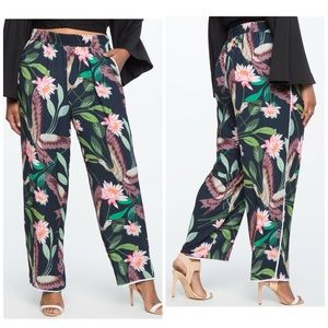 4b4ca8060e4 Eloquii Pants - Eloquii Studio Wide Leg Pajama Pant resort wear